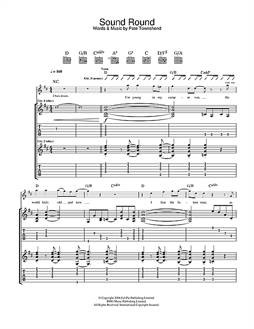 Sound Round Sheet Music
