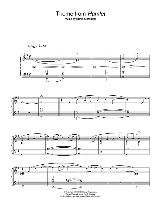 once upon a time in the west sheet music pdf