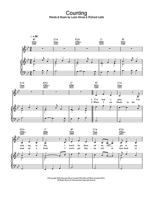 Counting Sheet Music