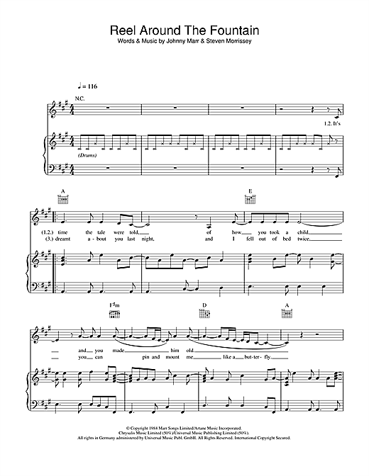 Reel Around The Fountain Sheet Music
