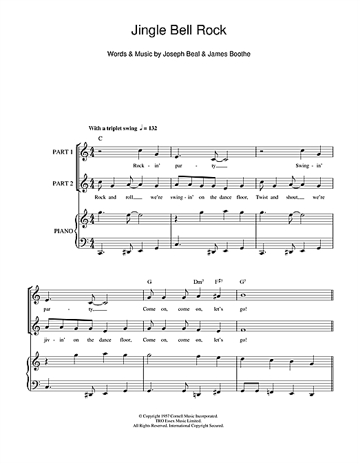 Jingle Bell Rock Sheet Music
