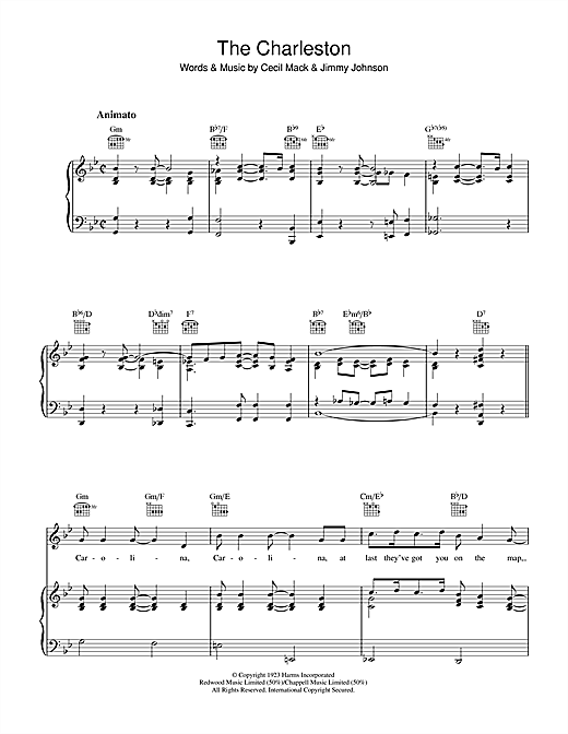 The Charleston Sheet Music