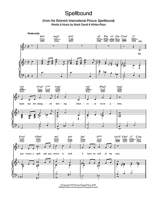 Spellbound Sheet Music