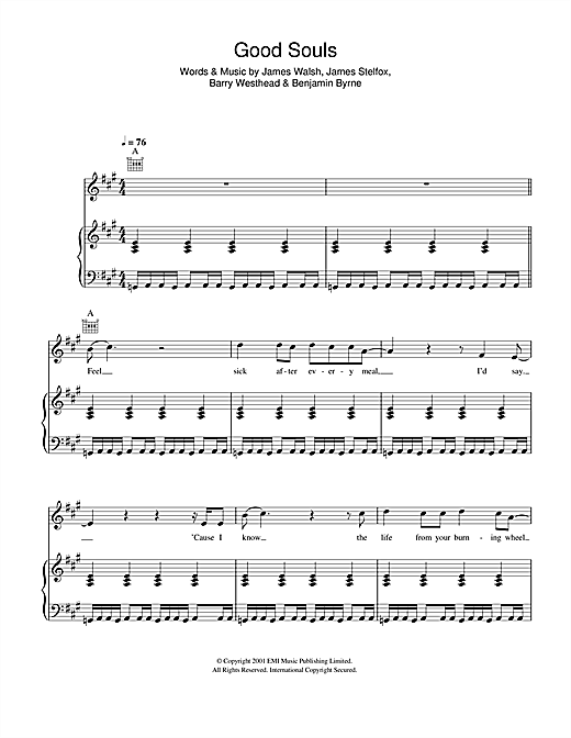 Good Souls Sheet Music