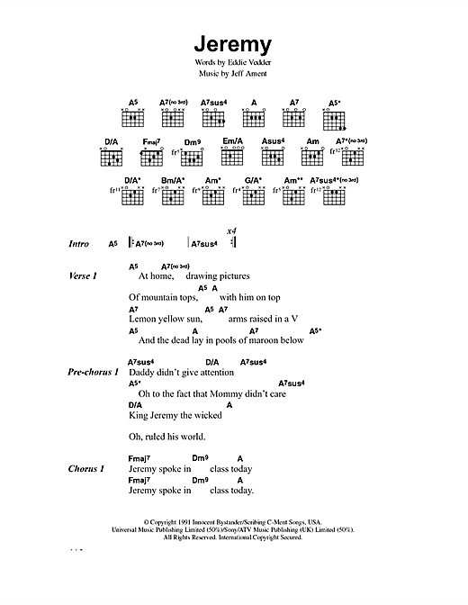 Yellow ledbetter guitar chords