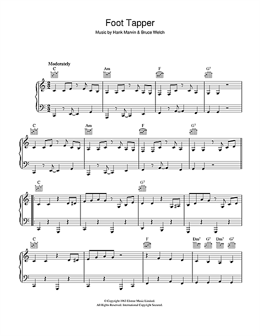 Foot Tapper Sheet Music