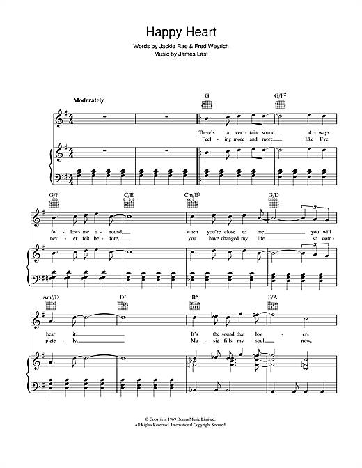 Happy Heart Sheet Music