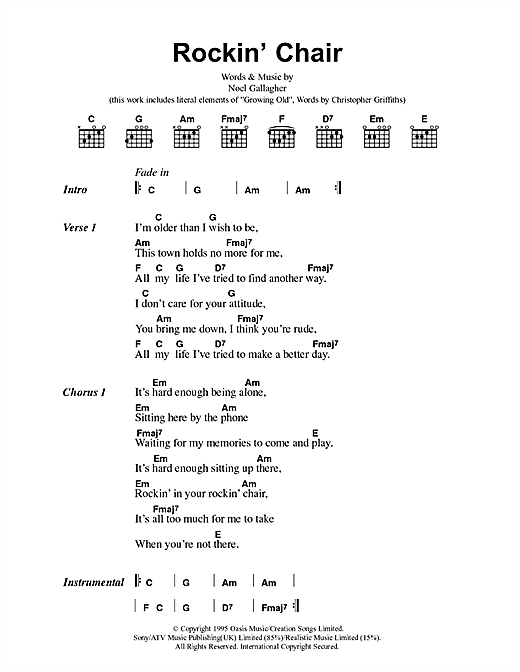 Rockin' Chair Sheet Music