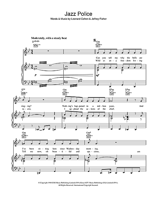 Jazz Police (Piano, Vocal & Guitar (Right-Hand Melody))