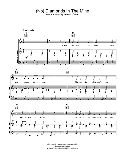 (No) Diamonds In The Mine Sheet Music