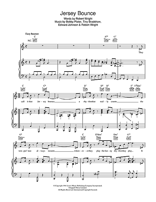 Jersey Bounce Sheet Music
