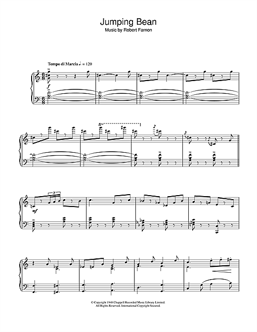 Jumping Bean Sheet Music