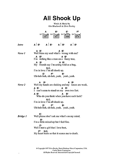 shook me up lyrics You shook me up (all night long) has two versions to the music video the first version, directed by eric dionysius and eric mistler, is similar to the other back in black videos.