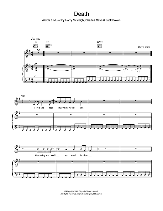 Death Sheet Music