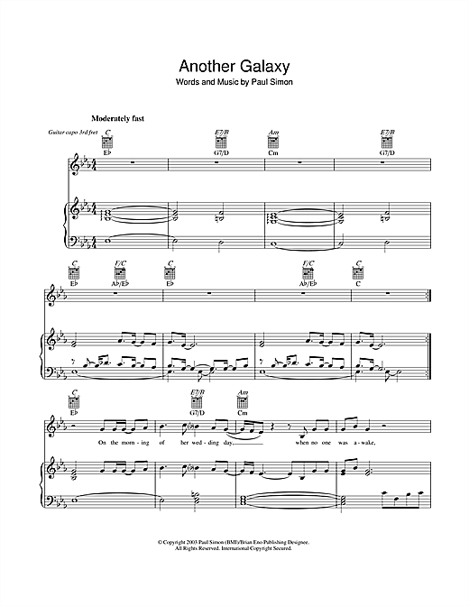 Another Galaxy Sheet Music