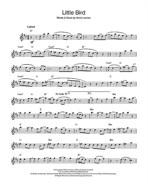 Little Bird Sheet Music