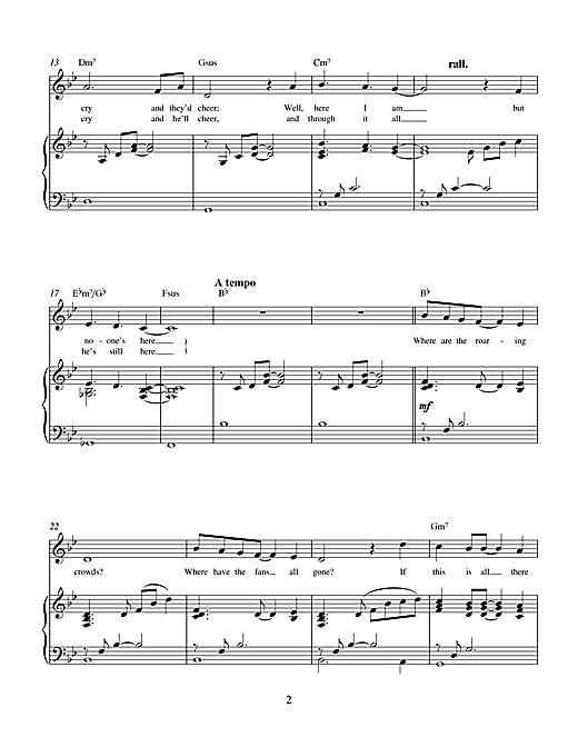 If This Is All There Is (from No One In The World) Sheet Music