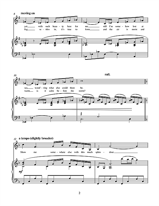 Sail Me There (from Hope) Sheet Music