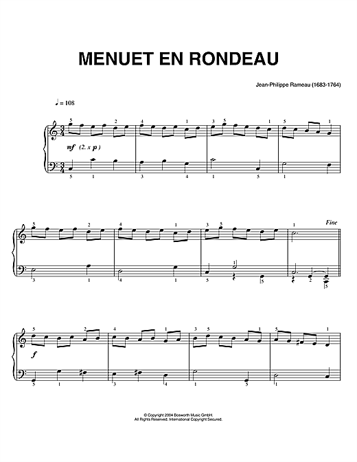 Menuets | High-quality Music Downloads | 7digital United ...