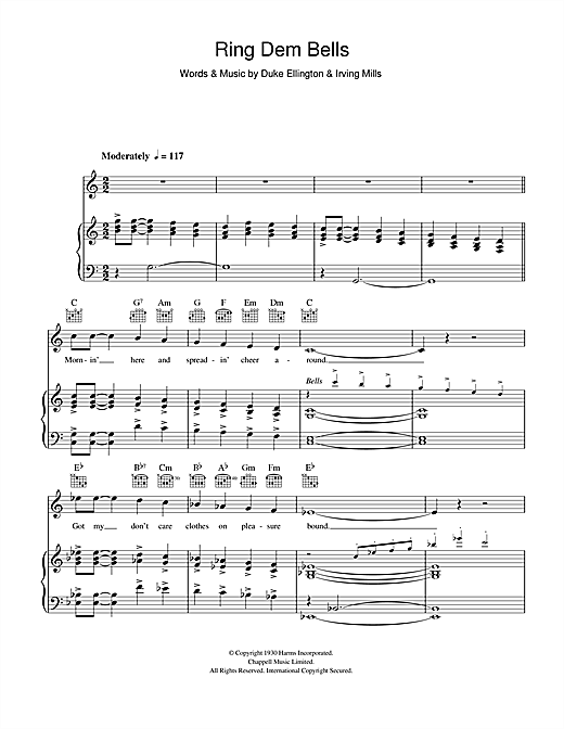 Ring Dem Bells Sheet Music