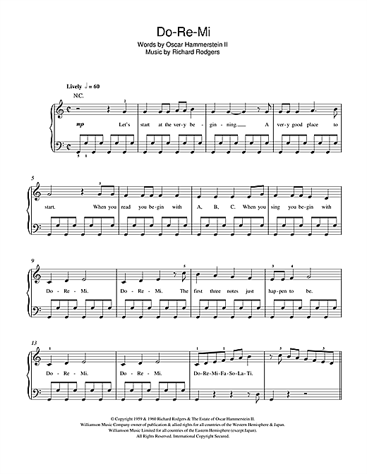 Do-Re-Mi (from The Sound Of Music) Sheet Music