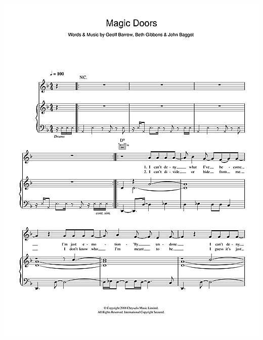 Magic Doors Sheet Music