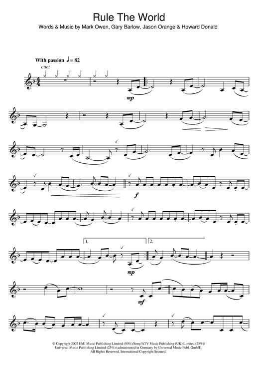 Viva La Vida Sheet Music Coldplay PDF Free Download