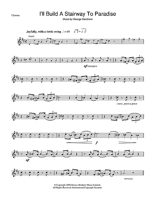 I'll Build A Stairway To Paradise Sheet Music