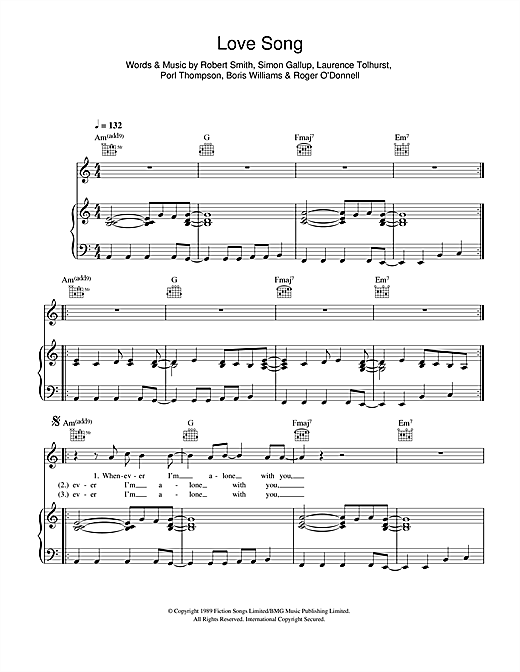 Love Song Sheet Music