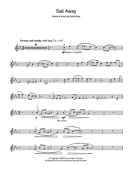 Sail Away Sheet Music