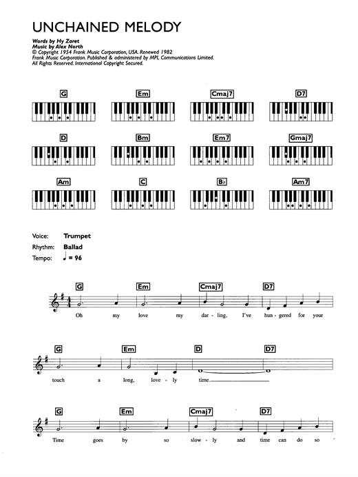 Piano piano chords melody : unchained melody piano chords Tags : unchained melody piano chords ...