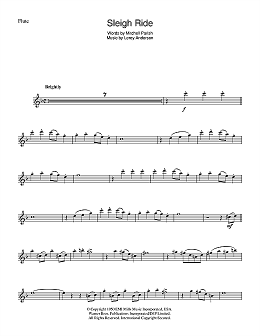how to play the flute written