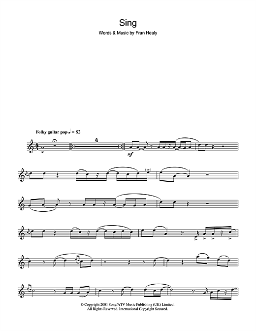 Sing Sheet Music