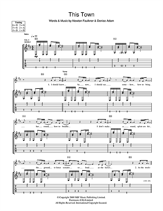 This Town Sheet Music