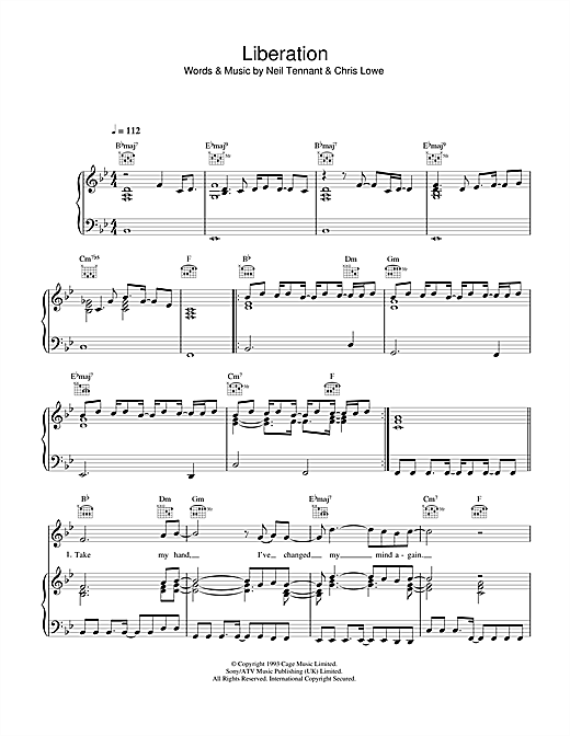 Liberation Sheet Music