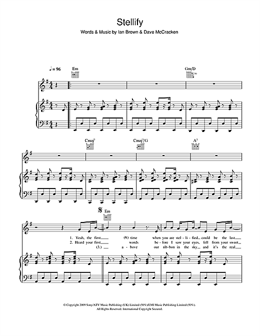 Stellify Sheet Music