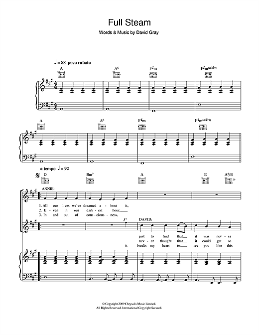 Full Steam Sheet Music