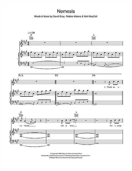 Nemesis Sheet Music