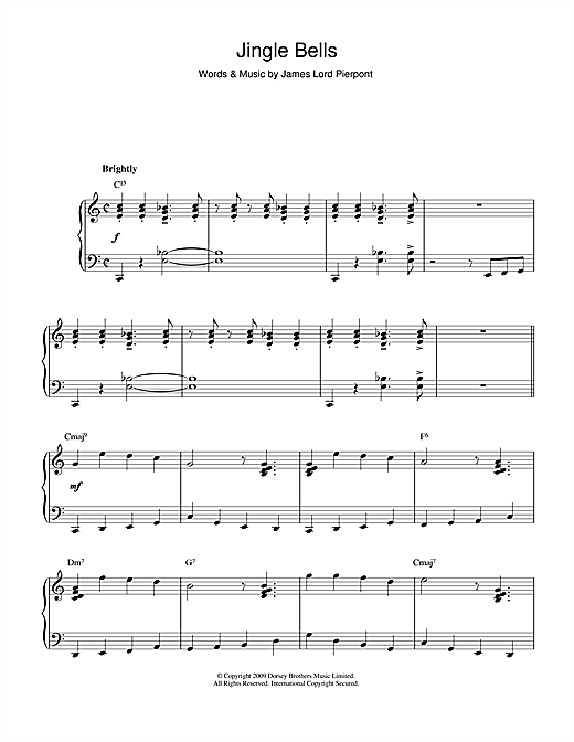 Piano : piano tabs jingle bells Piano Tabs Jingle as well as Piano ...