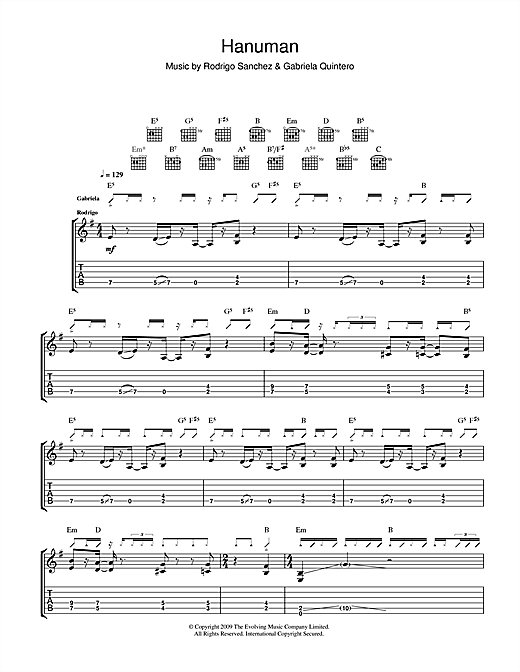 Hanuman Sheet Music