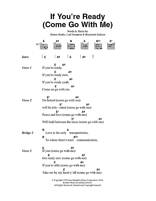 ready to come ready to go lyrics