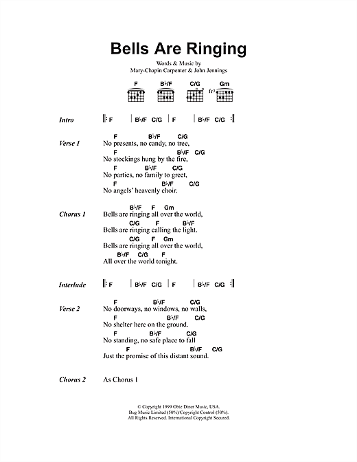 Bells Are Ringing Sheet Music