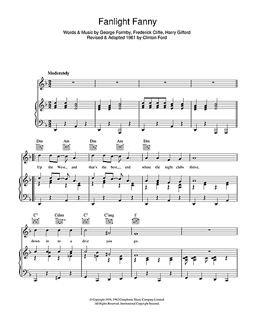 Fanlight Fanny Sheet Music