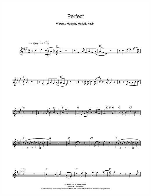 Perfect Sheet Music