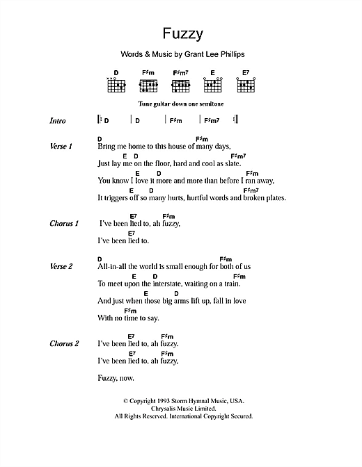 Fuzzy Sheet Music