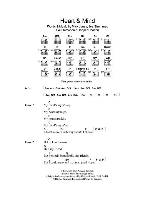 Heart & Mind Sheet Music