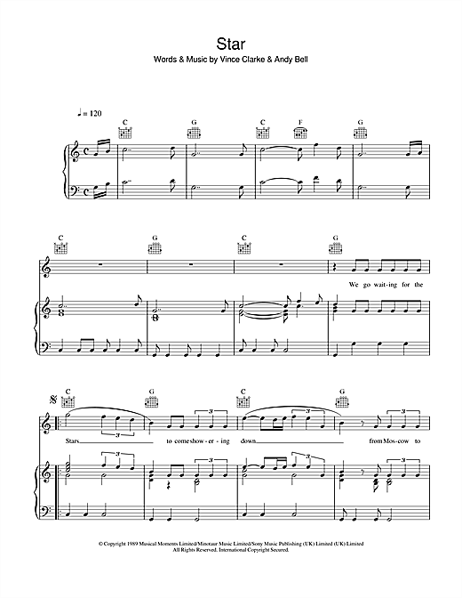 Star Sheet Music