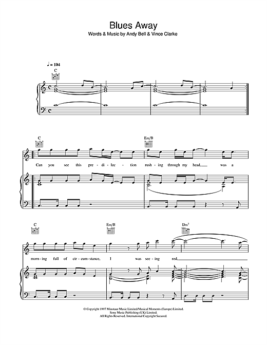 Blues Away Sheet Music