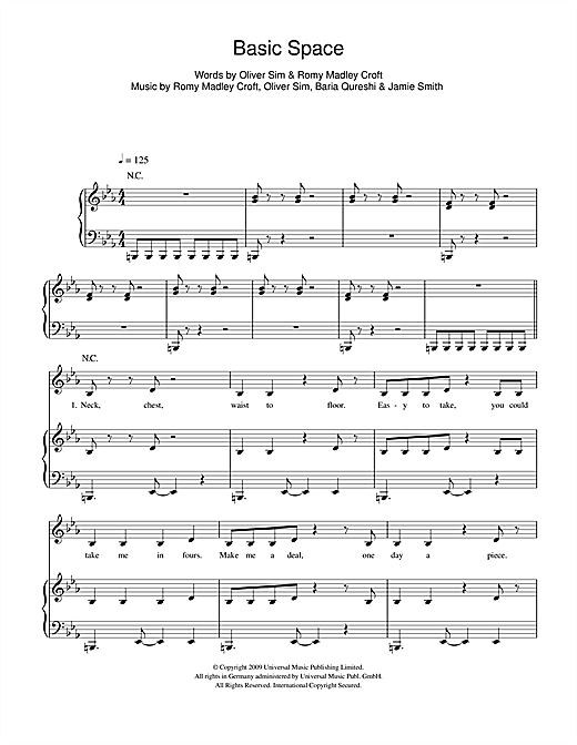 Basic Space Sheet Music