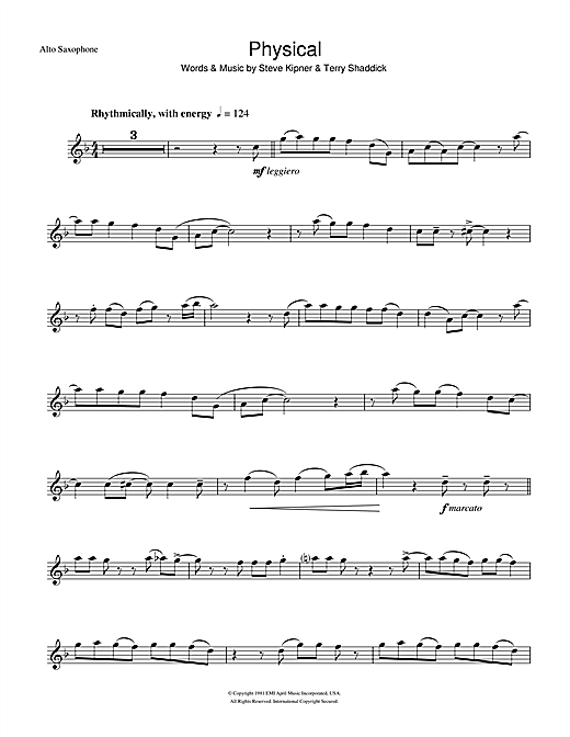 Physical Sheet Music